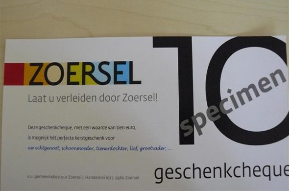 Zoersel Cheque
